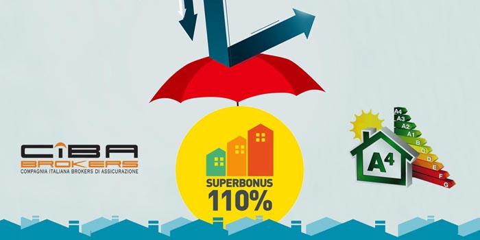 Coperture assicurative necessarie in merito al Superbonus 110%